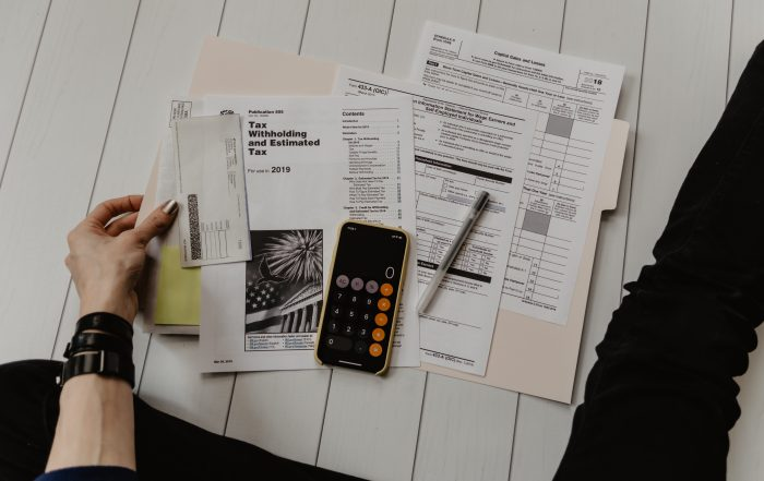Person doing taxes for Personal Service Corporation